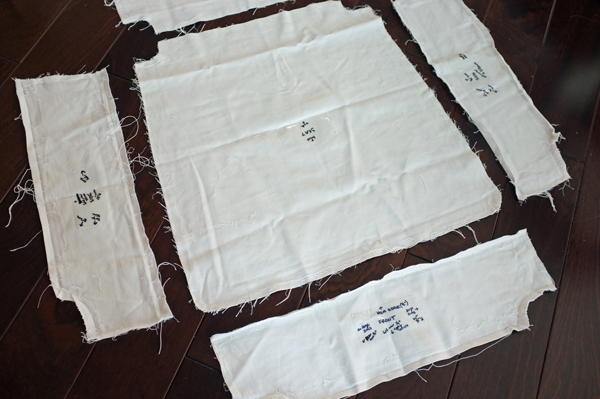 Make A Chair Slipcover Pattern