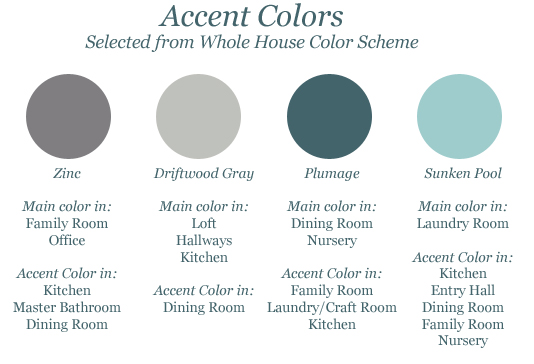 House Accent colors