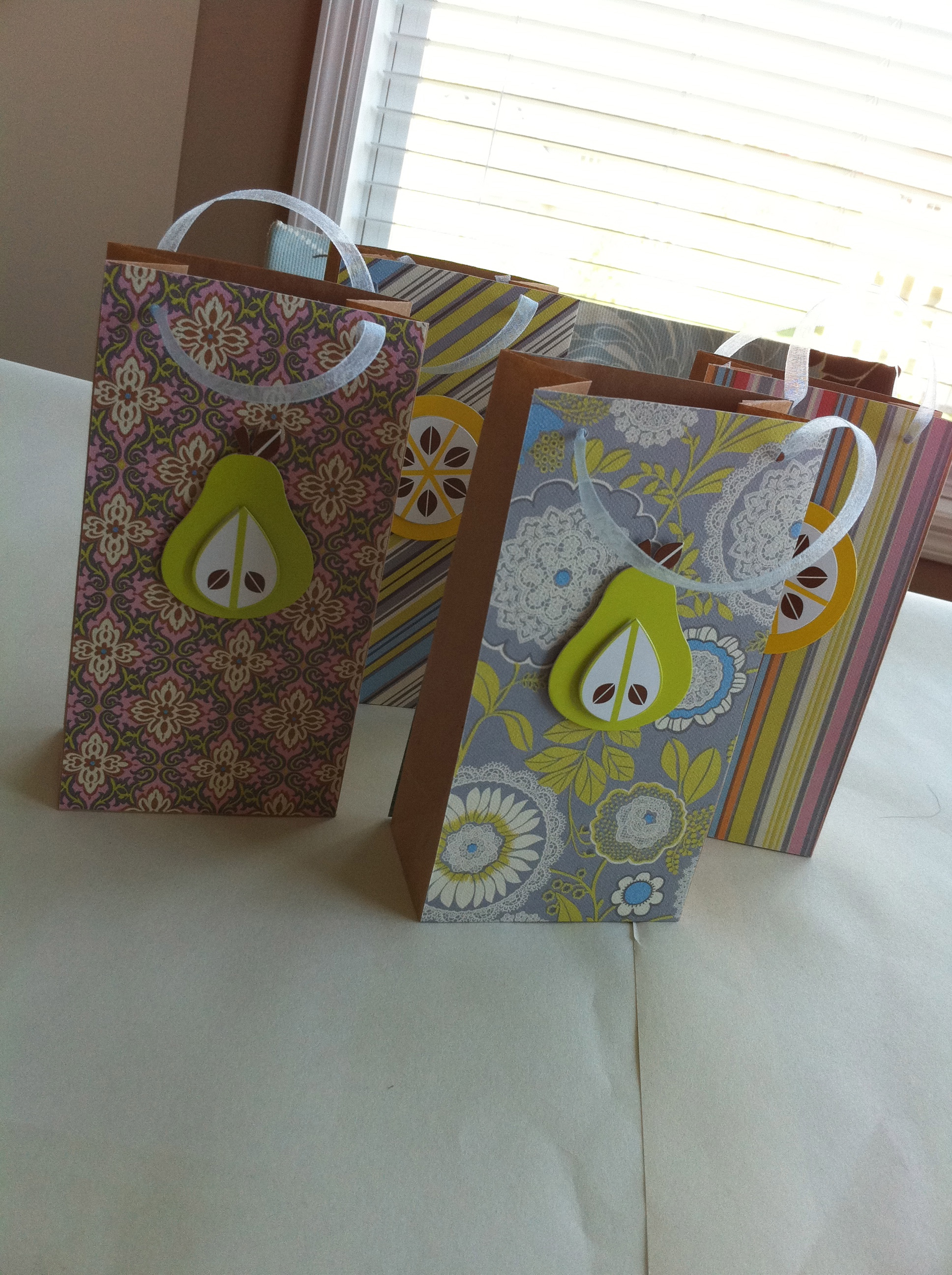 {Tutorial} Mini Gift Bags