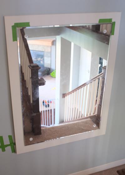 Frame for a Vintage Beveled Mirror -Part 2