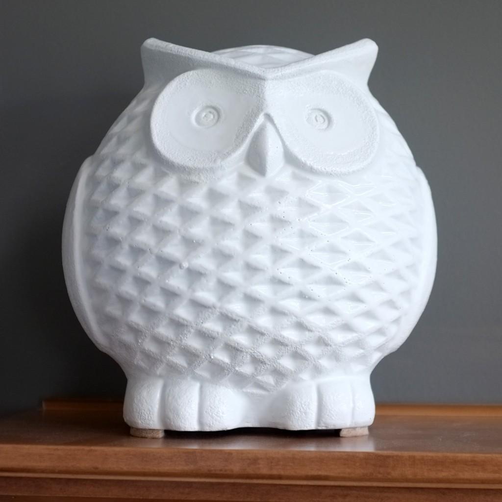DIY Ceramic Owl