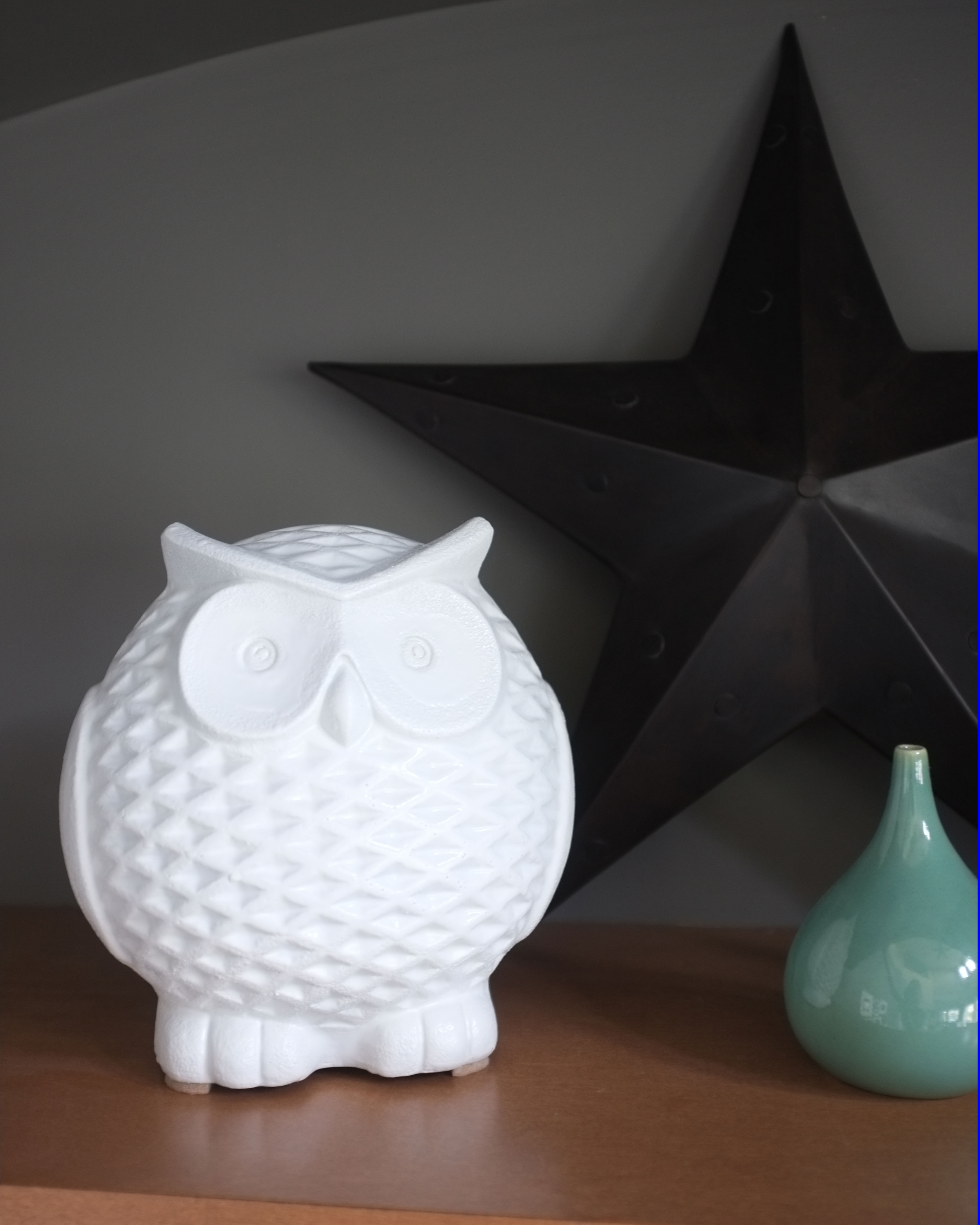 Ceramic Owl Decor
