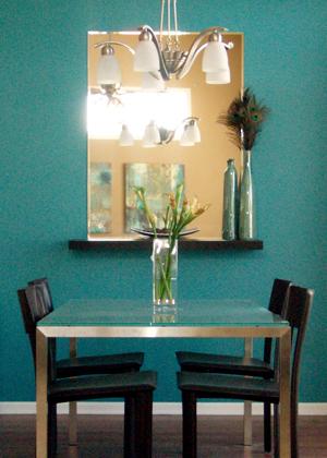 Frame for a Vintage Beveled Mirror