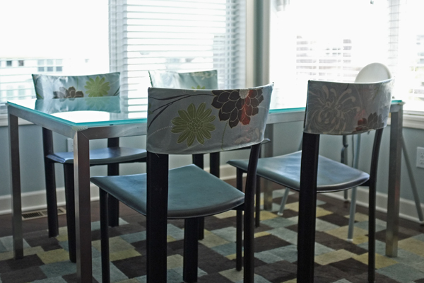 DIY Laminated Chair Back Covers | School of Decorating by Jackie ...