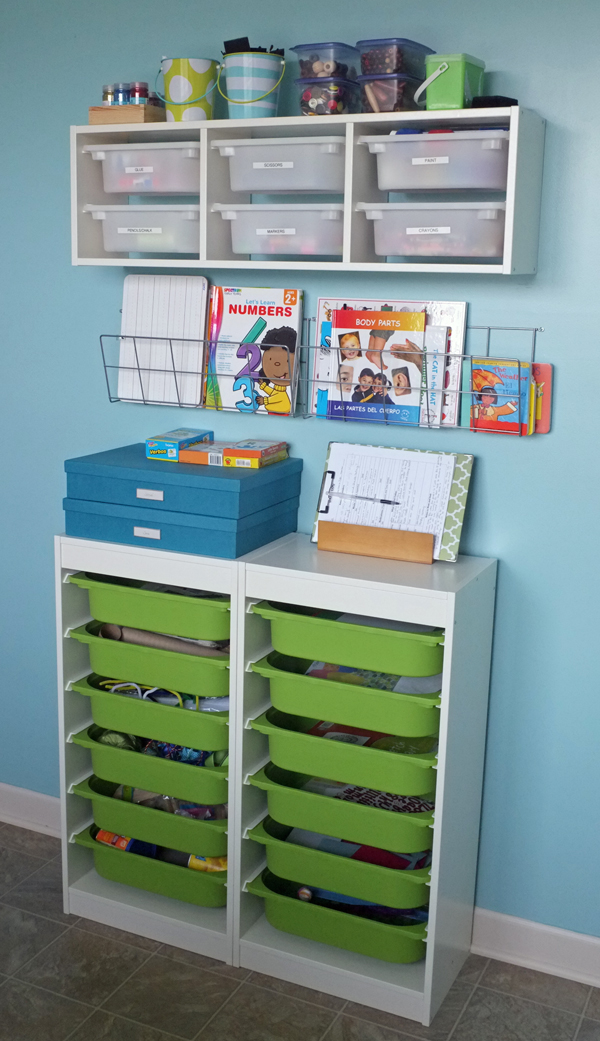 Incroyable Ultimate Kids Art And Craft Storage Center