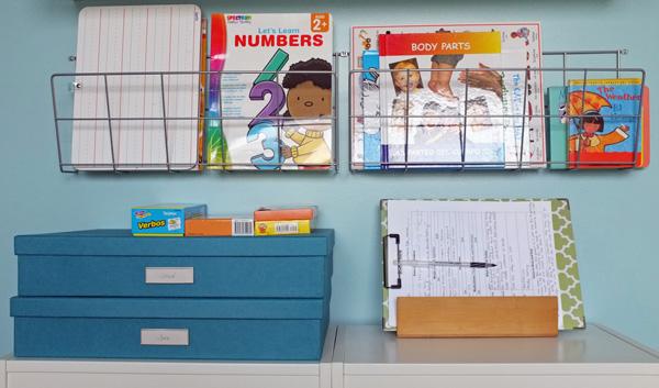 Home School storage