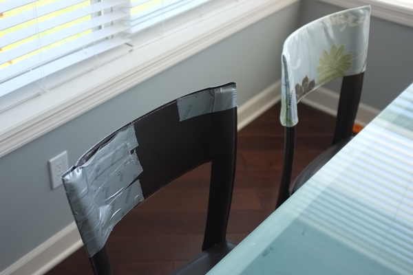 DIY Laminated Chair Back Covers | School of Decorating by ...
