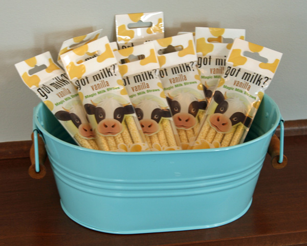 Got Milk Straws Party Favors