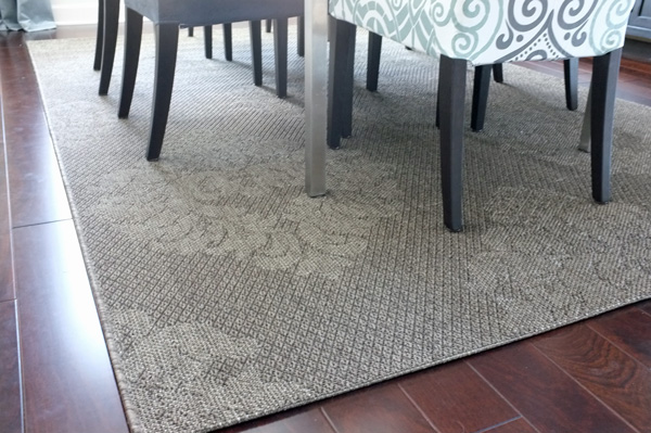 Outdoor Rug for the Dining Room
