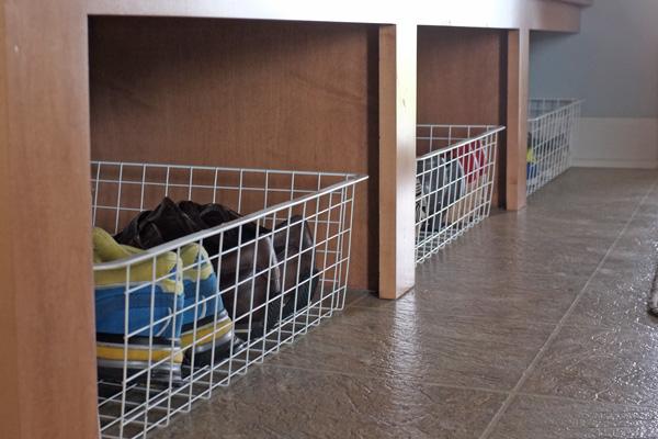 Shoe Storage Baskets