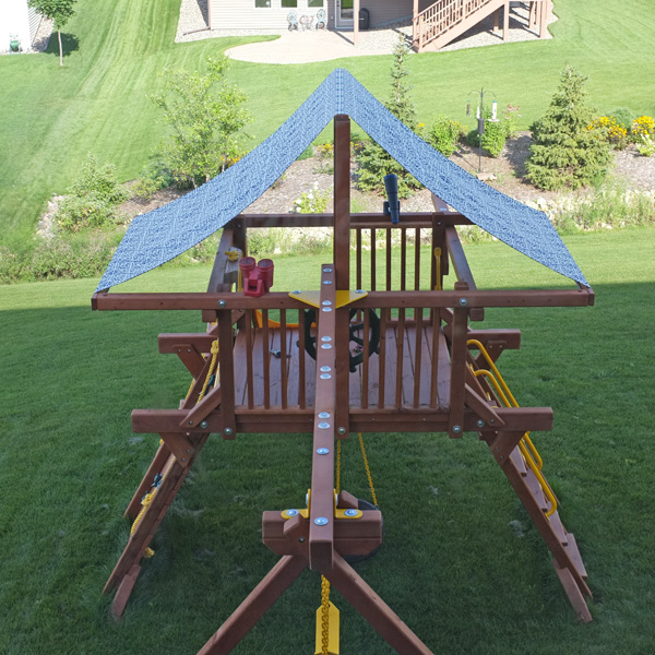 Play Set Canopy Makeover   School of Decorating by Jackie ...