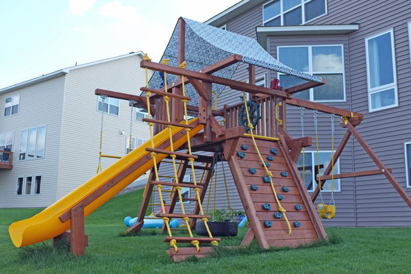 Playground Canopy Makeover