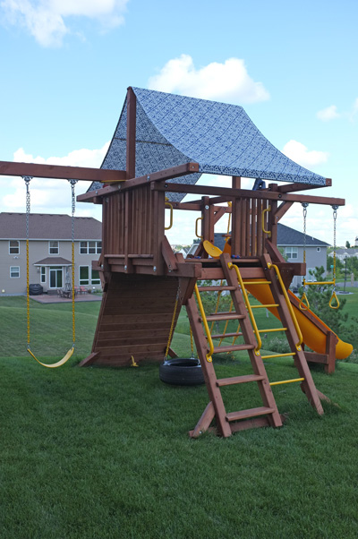 Play set makeover : playground canopy - memphite.com