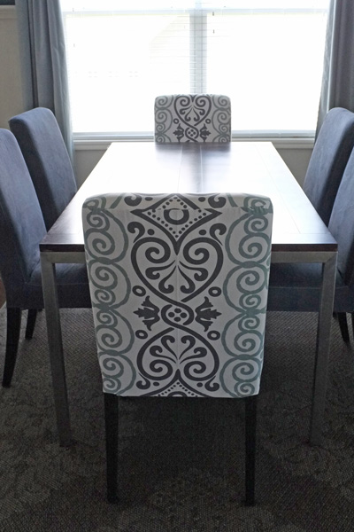 Dining Chair Slipcovers From Modern Tablecloth