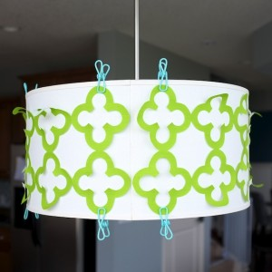 Drum Shade Applique