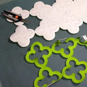 Quatrefoil Applique Design