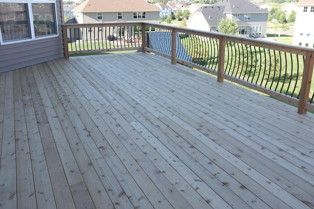Huge Cedar Deck