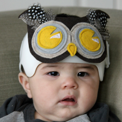Baby Owl Costume Mask