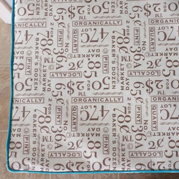 Shopping Bag Fabric for Bench Cushion