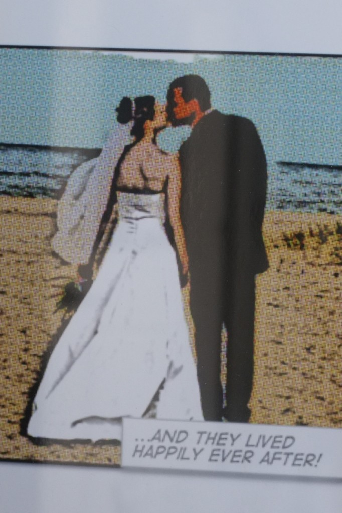 Comic Art Wedding Pictures