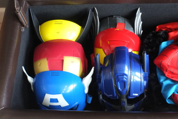 Superhero Dress Up Masks