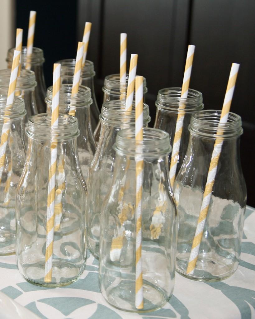 Diy glass milk bottles for Easy break glass bottles