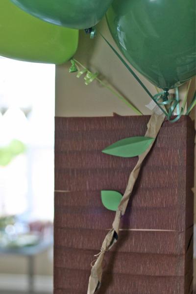 Brown Paper Bag Jungle Vines