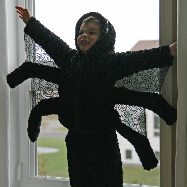 Kids Spider Costume