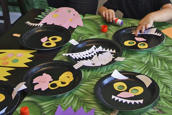 Making Wild Things Masks