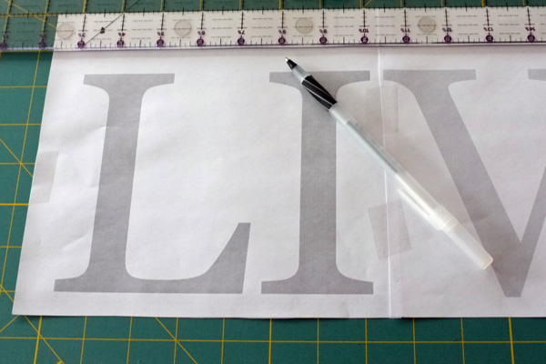DIY Word Art
