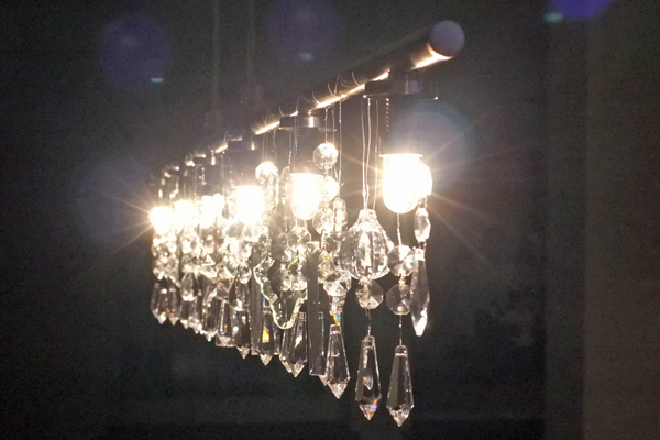 Diy linear crystal chandelier crystal chandelier mozeypictures