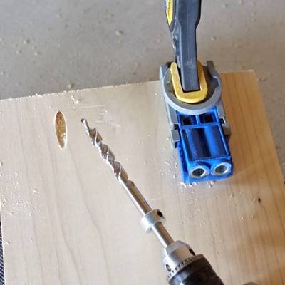 Drilling Pocket Holes