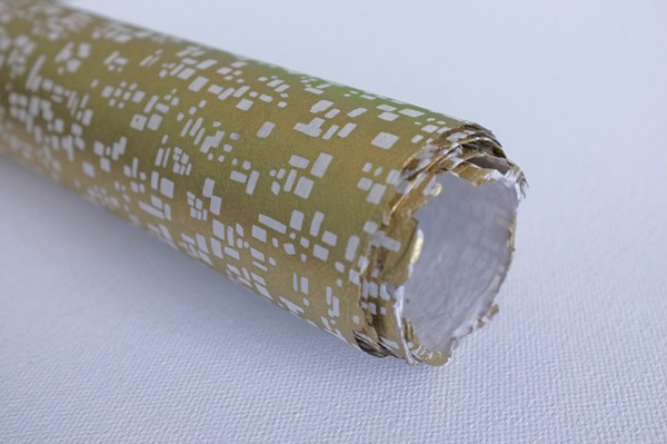 Handmade Wrapping Paper Gold