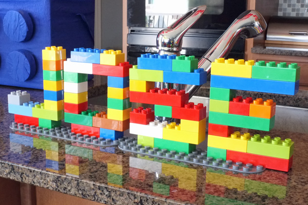 lego name art