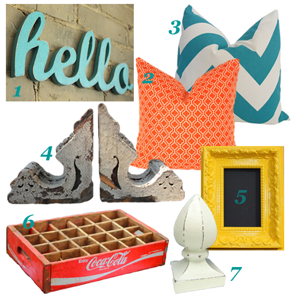 Vintage Eclectic Family Room Accessories