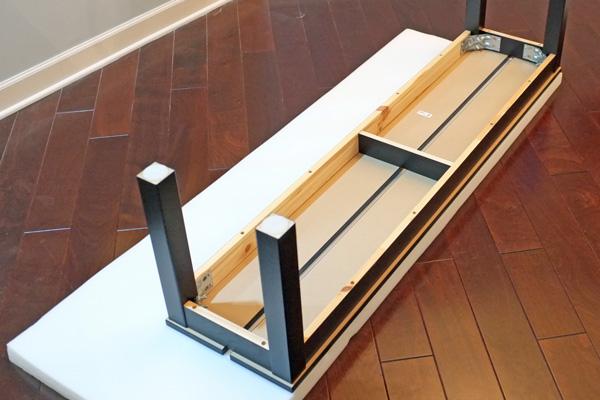 DIY Bench Slipcover