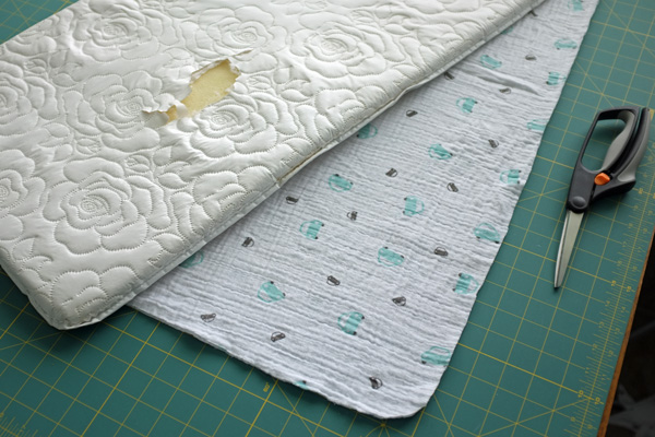 DIY Changing Pad Cover Delectable Changing Pad Cover Pattern