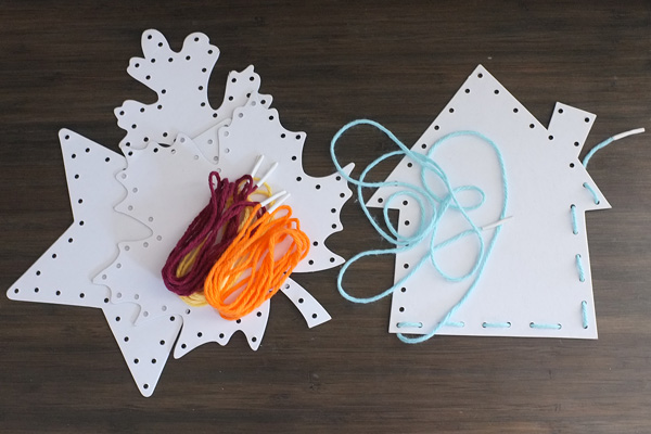 DIY Lacing Cards