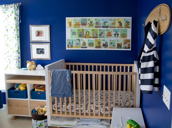 Bold Blue Nursery Tour