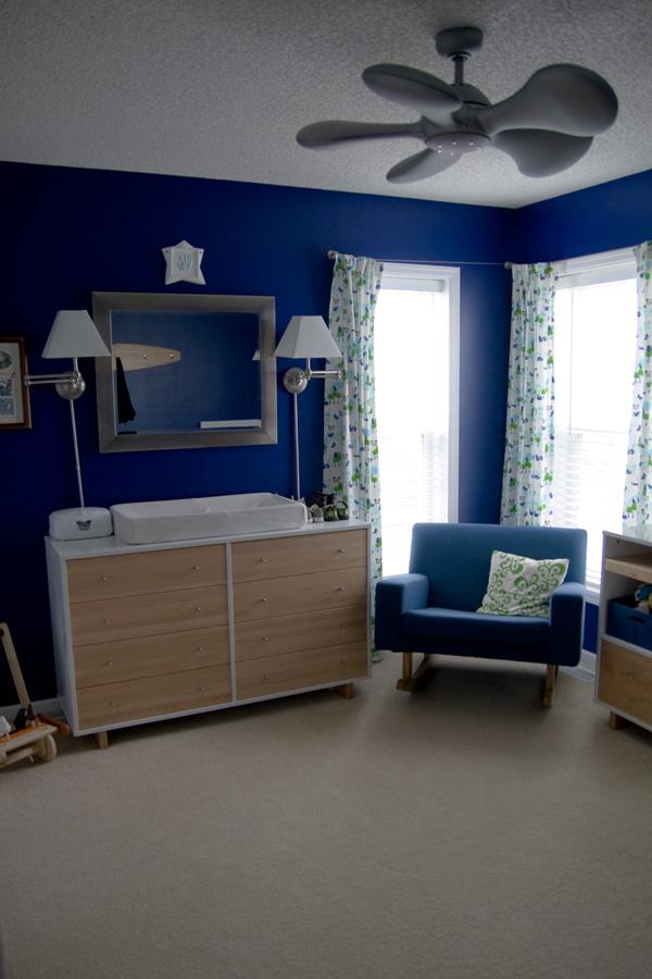 Bold Blue Nursery