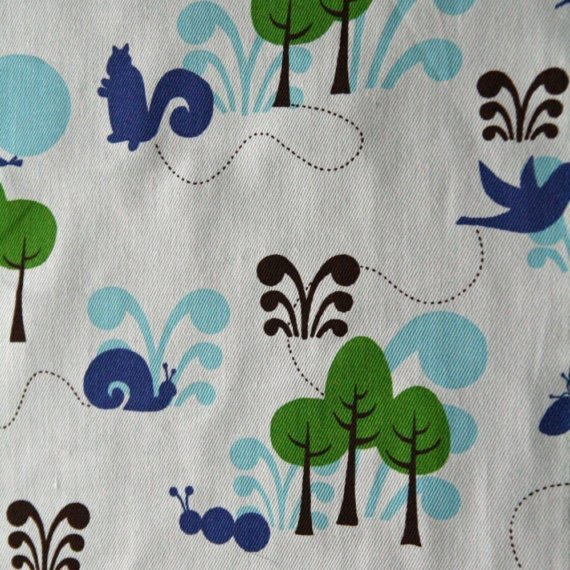 Enchanted Forest Organic Fabric