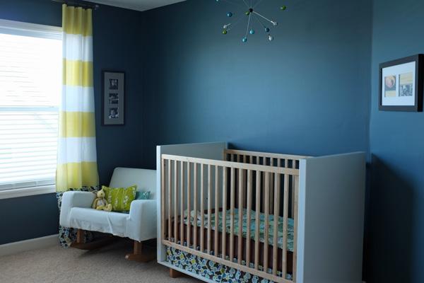 Modern Teal Nursery