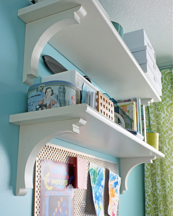 Stair Tread Shelves
