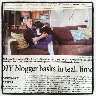 Woodbury Bulletin Article