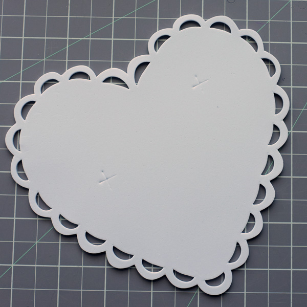Foam Heart for Arrow Pencil Valentine