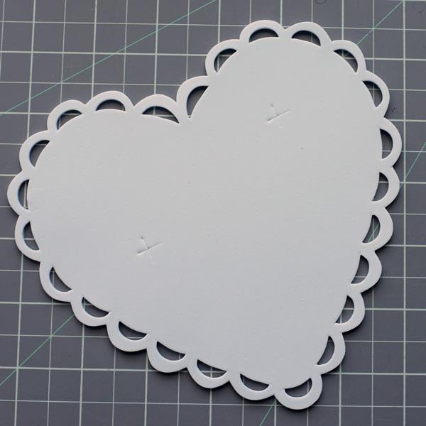 Foam Heart for Arrow Pencil Valentine
