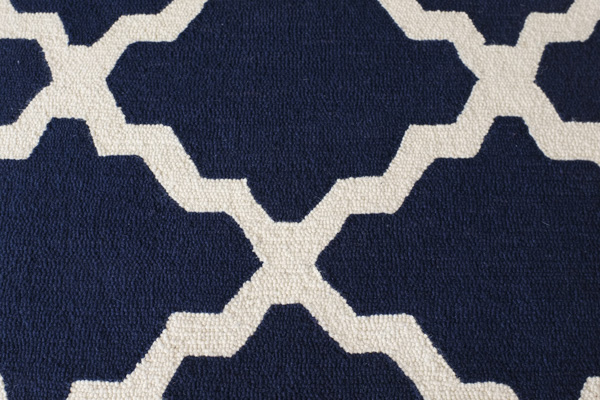 Moroccan Trellis Rug texture