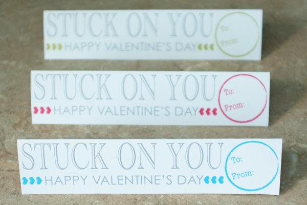 Stuck On You Valentine