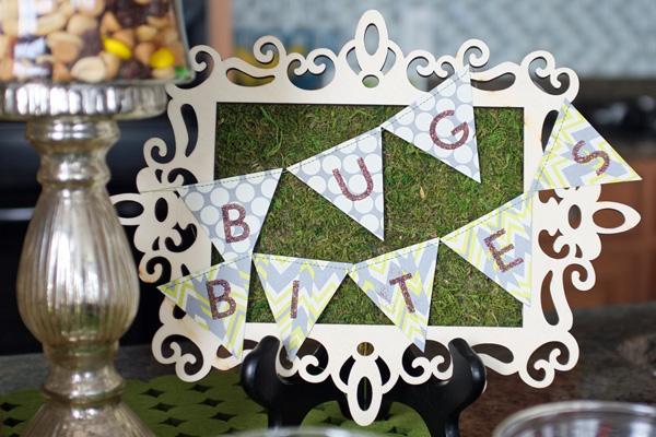 Bug Bites Framed Moss Sign