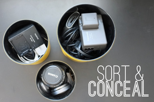 Concealing Camera Accessories